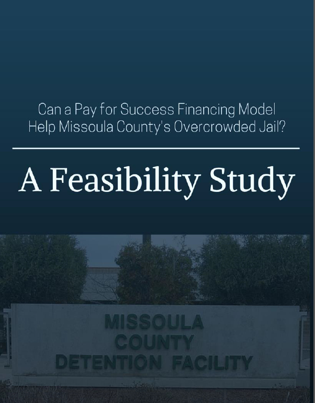 Pay for Success Feasibility Study Cover Sheet