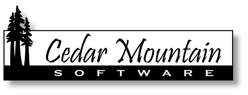Cedar Mountain Software Logo