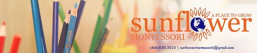 sunflower montessori logo