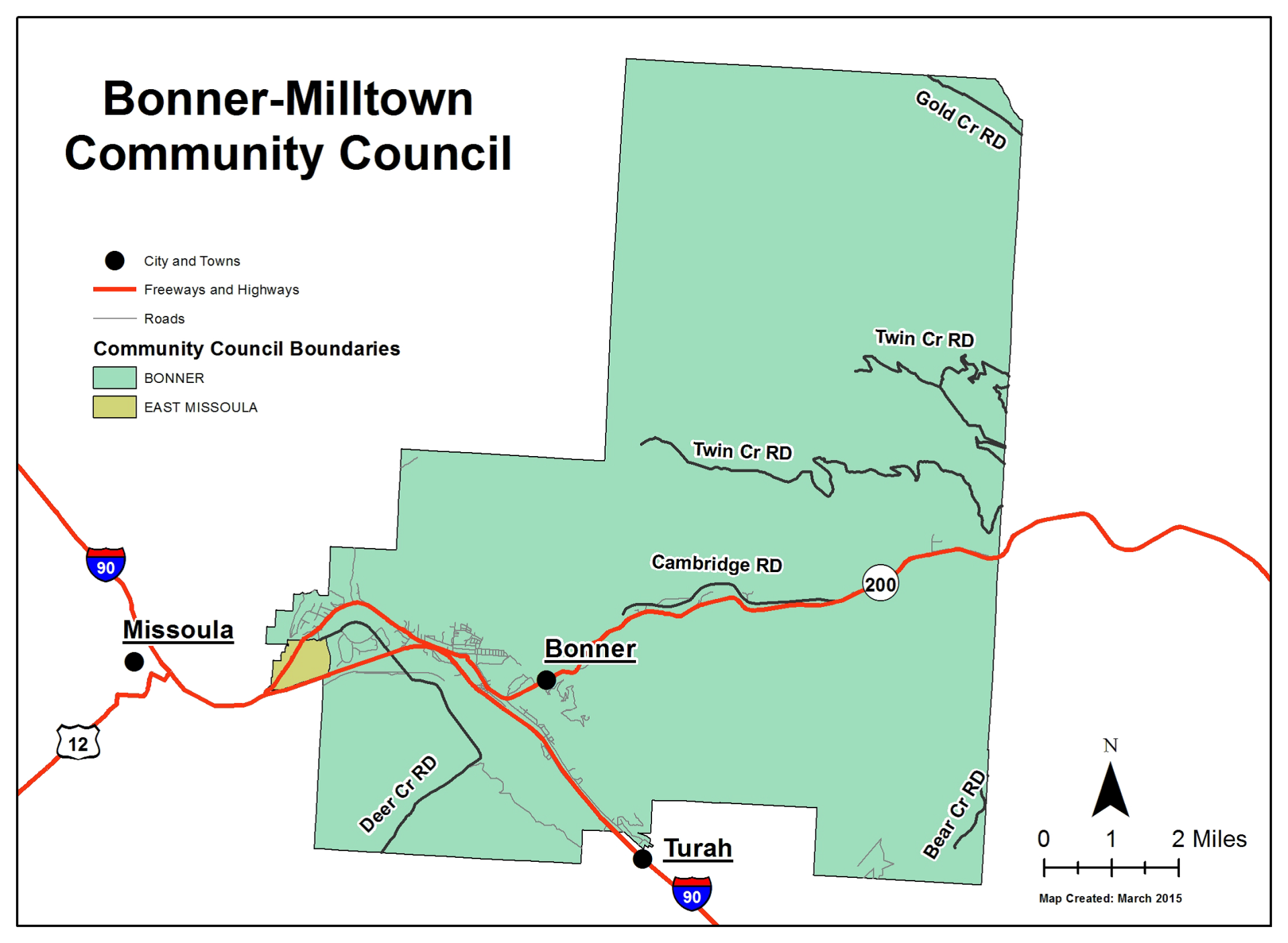 Bonner-Milltown Community Council