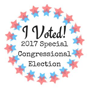 2017 Congressional Election Sticker