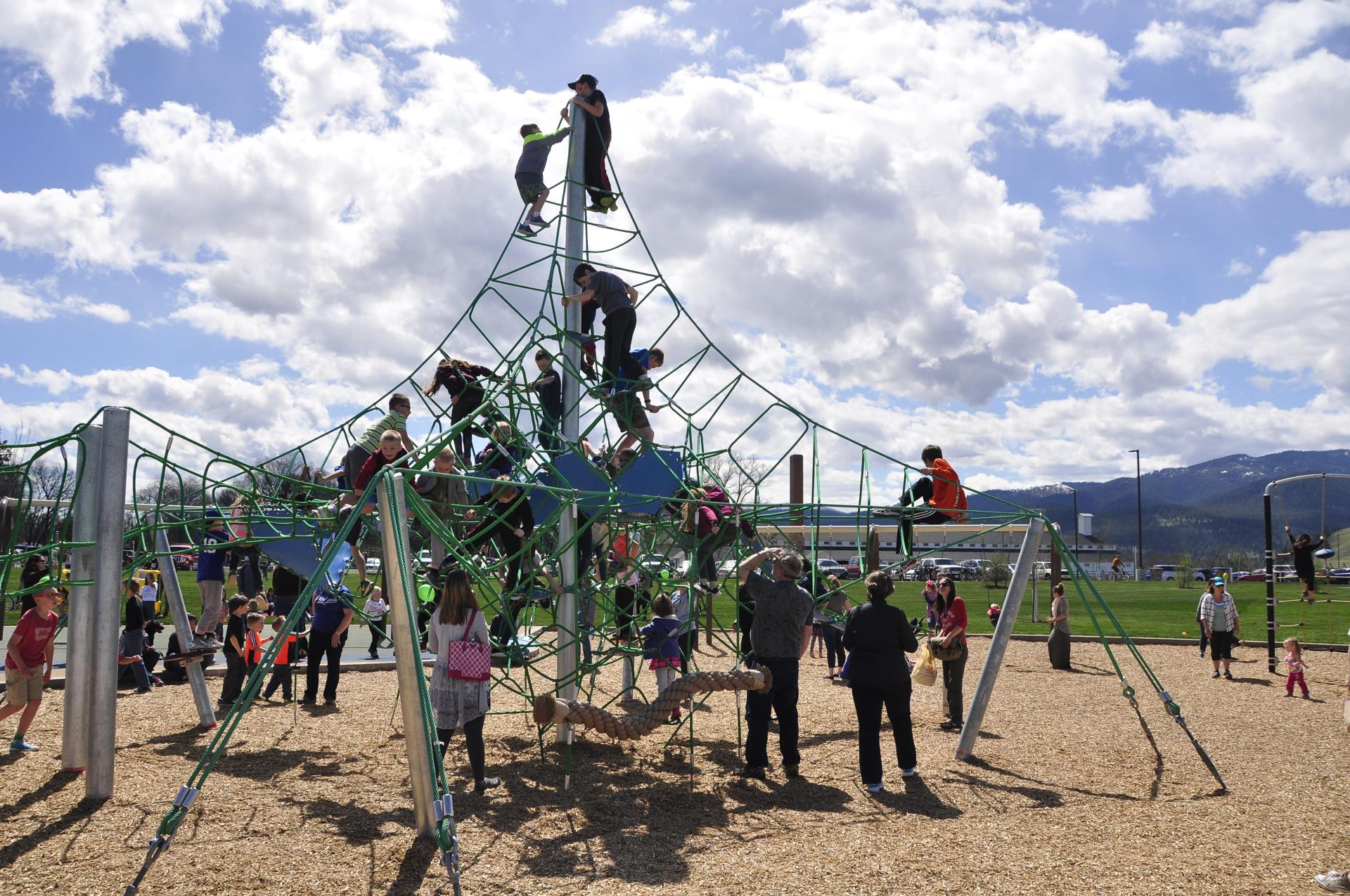 Fort Missoula Regional Park - Phase 1 - Grand Opening - photo credit Heather Peters