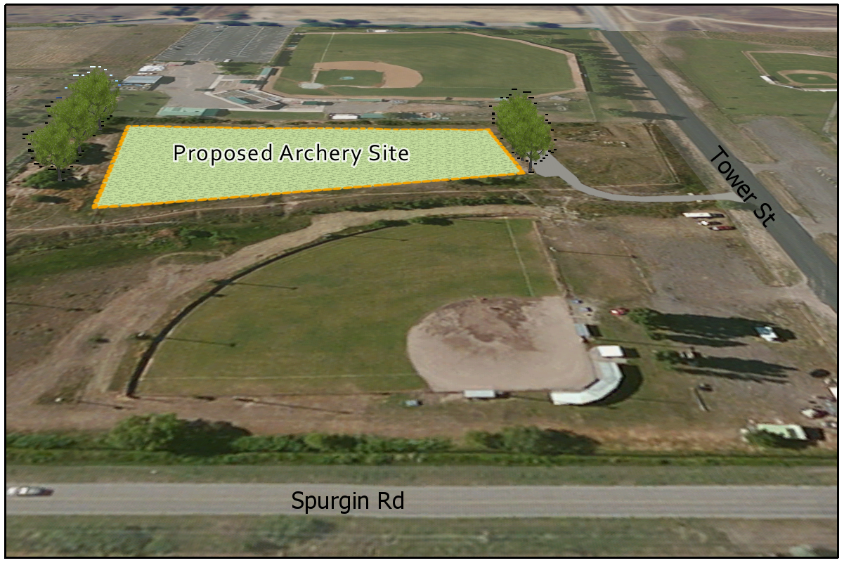Proposed archery site