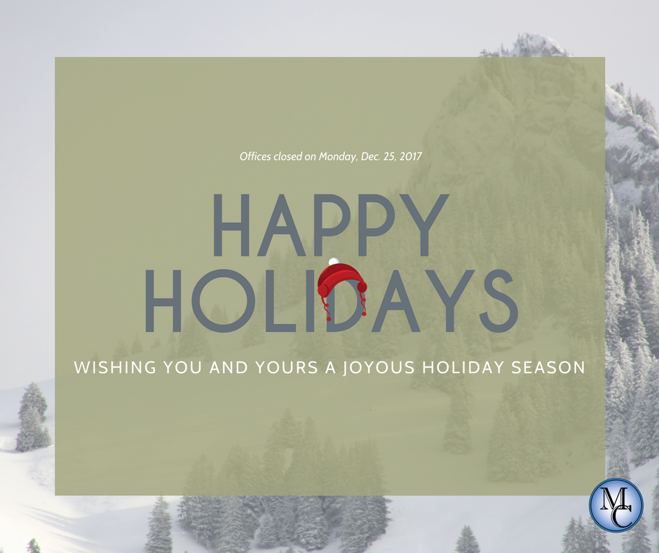 Happy Holidays, Missoula County offices closed