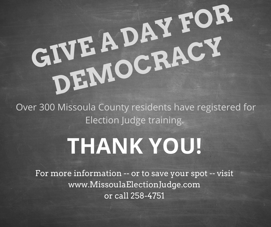 Give a day for democracy
