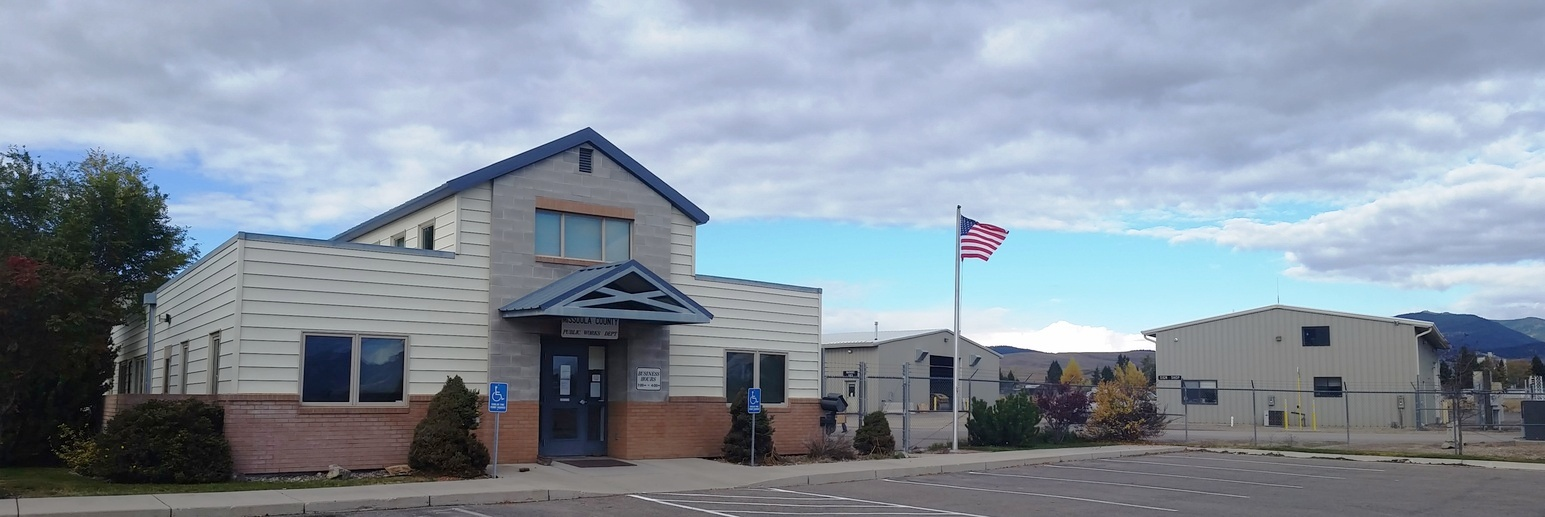 Public Works Facility, located on Airway Boulevard in Missoula.