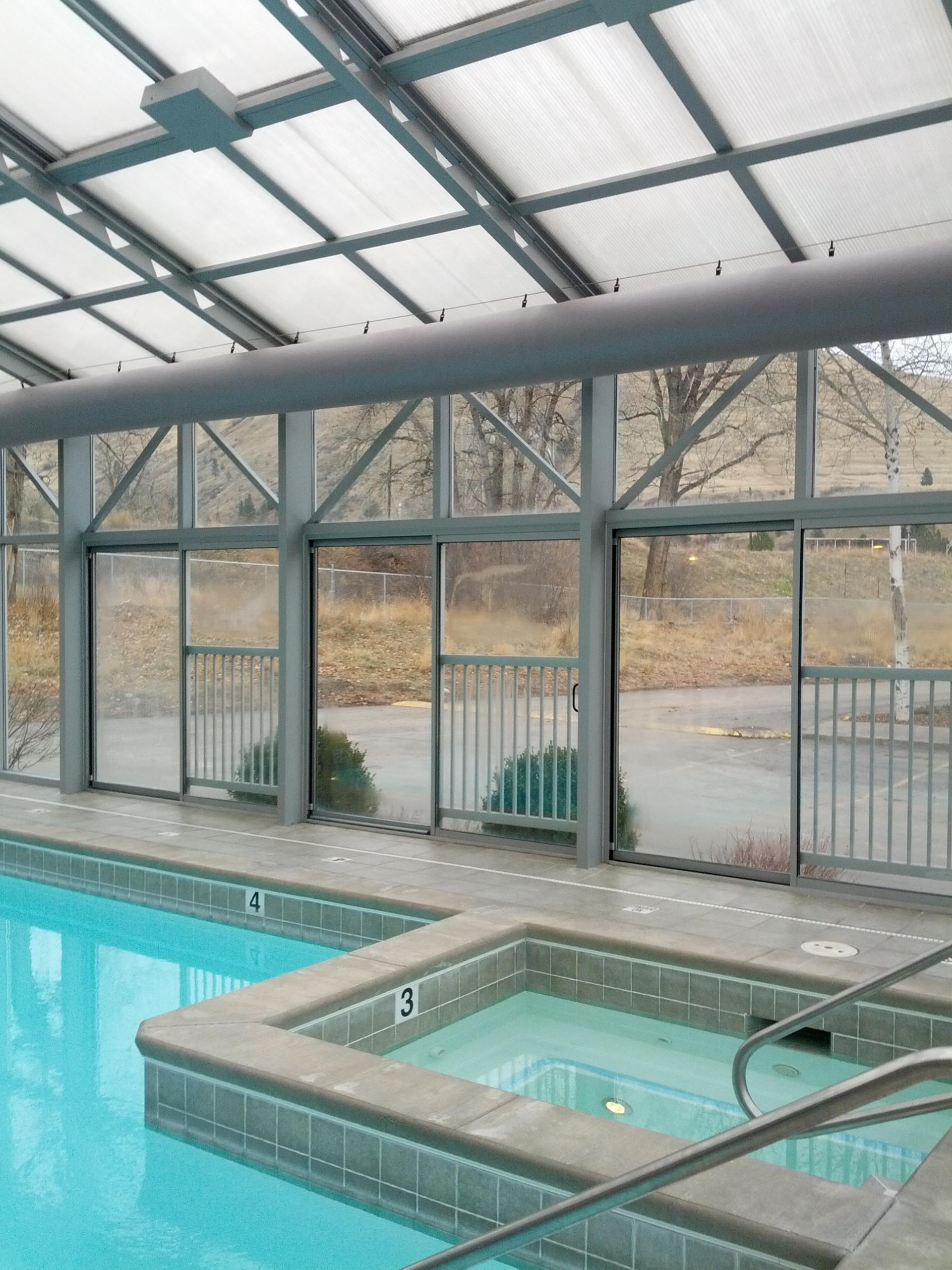 Spa and pool that have been inspected by the Missoula City-County Health Department.