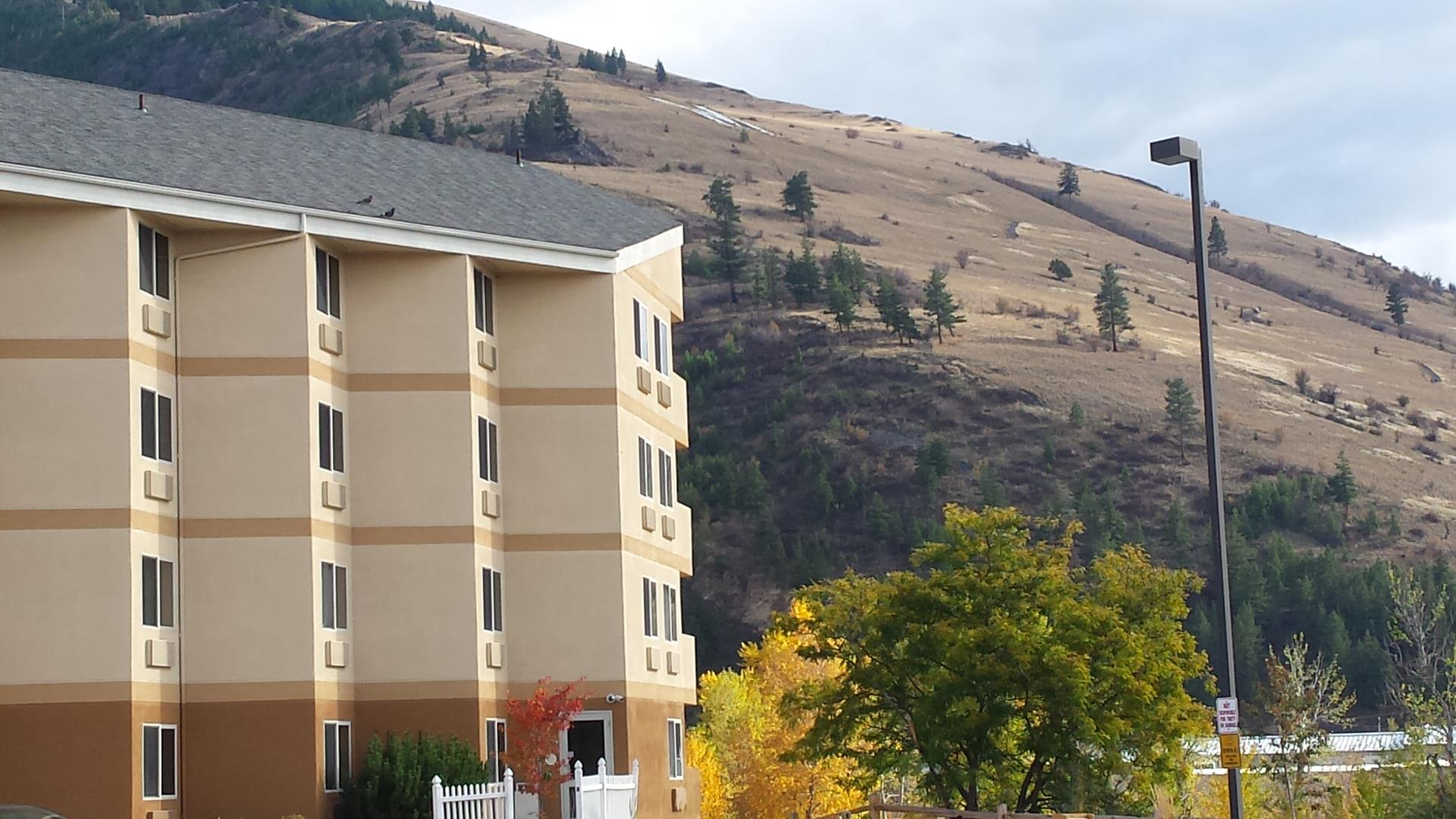 Hotel and M in Missoula.