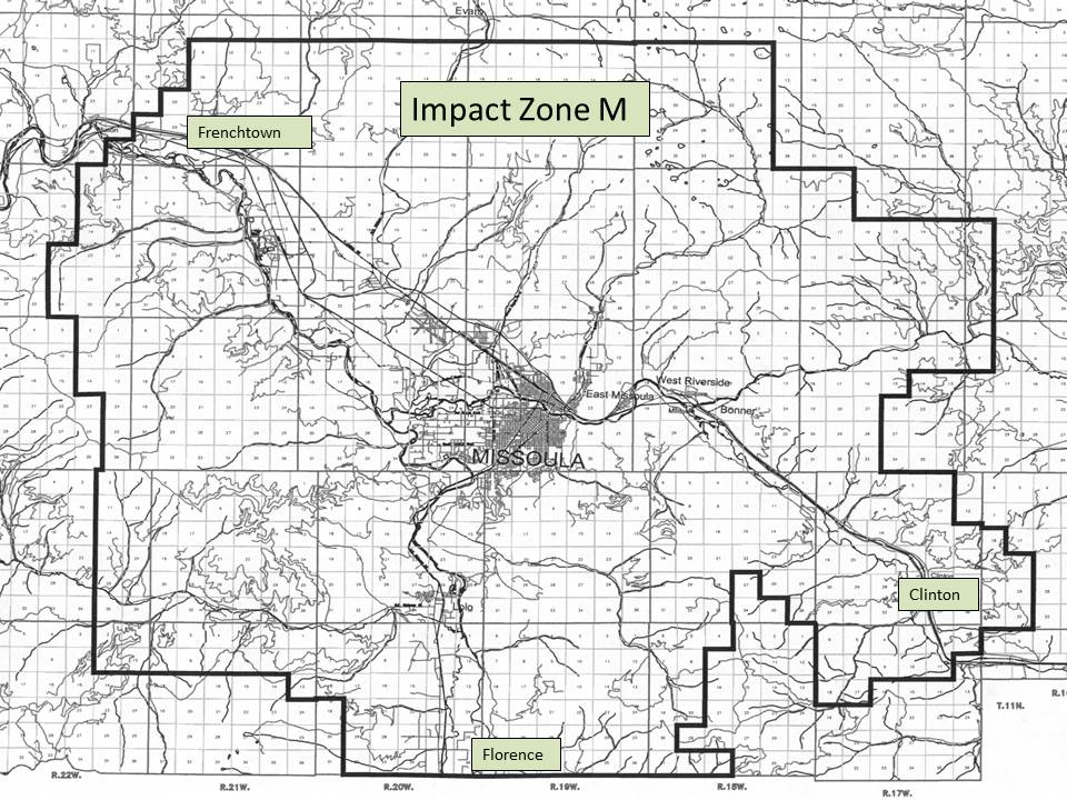 Impact Zone M Map