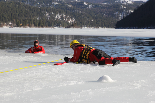 Missoula County Sheriff's Office - SSSAR Ice Rescue Training