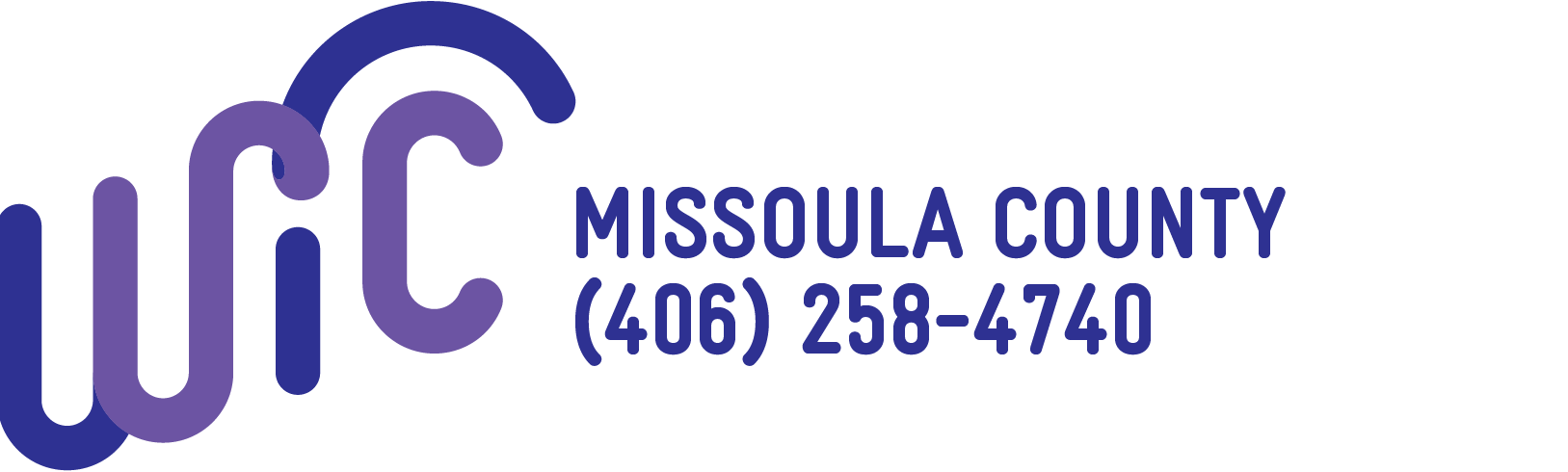 WIC Montana Local Logos Violet_Missoula County (406) 258-4740