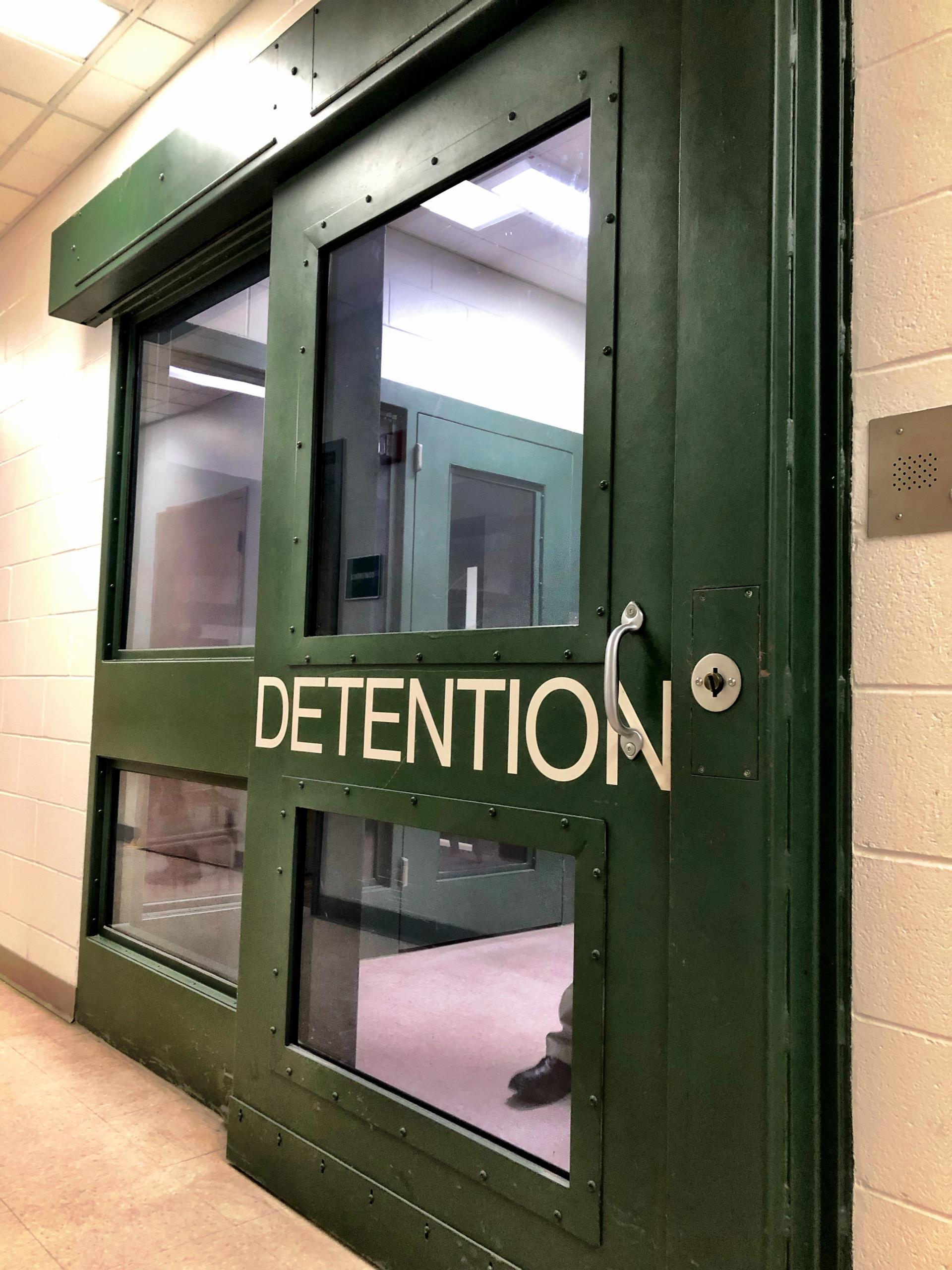 MCDF detention door