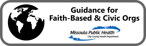 Guidance for Faith-Based and Civic Organizations Button