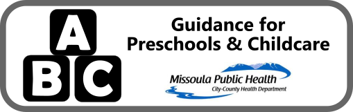 Guidance for Preschools and Childcare Button