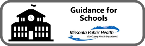 Guidance for Schools Button