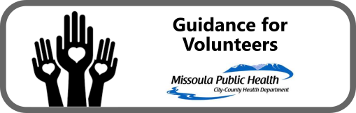 Guidance for Volunteers Button