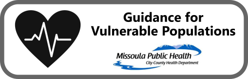 Guidance for Vulnerable Populations Button