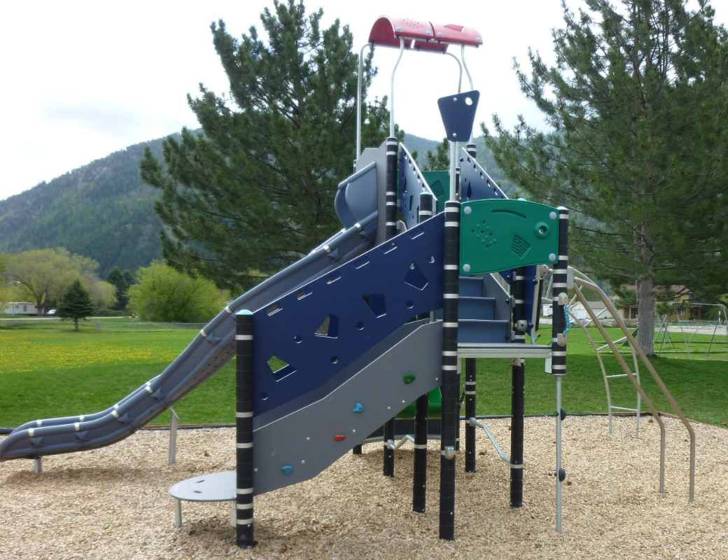 Playground at East Missoula Lions Park