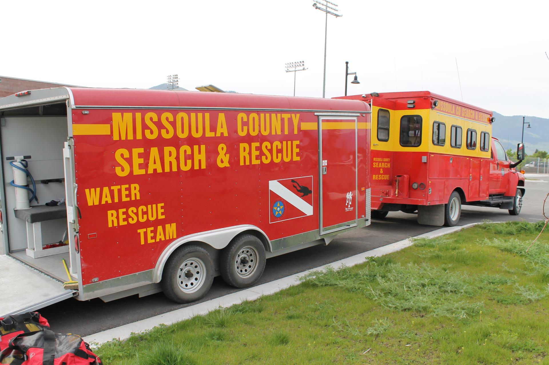 Missoula County Sheriff's Office - MCSAR Vehicles