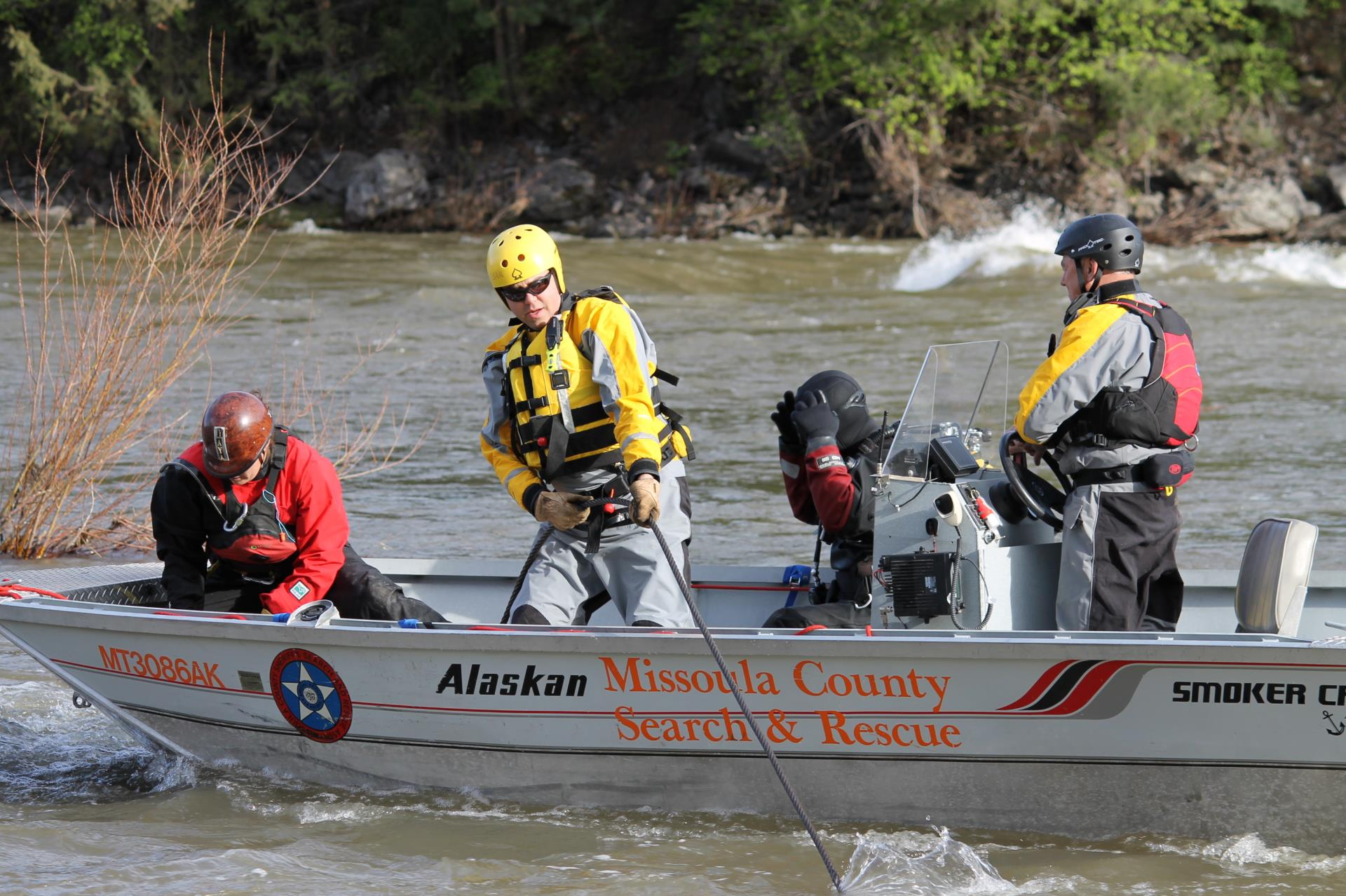 Missoula County Sheriff's Office - MCSAR Swiftwater Training
